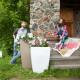 Напольное кашпо для цветов в Кызыле
