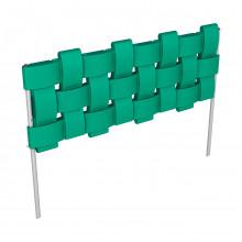 Комплект «Декоративный заборчик «Плетенка» Зеленый